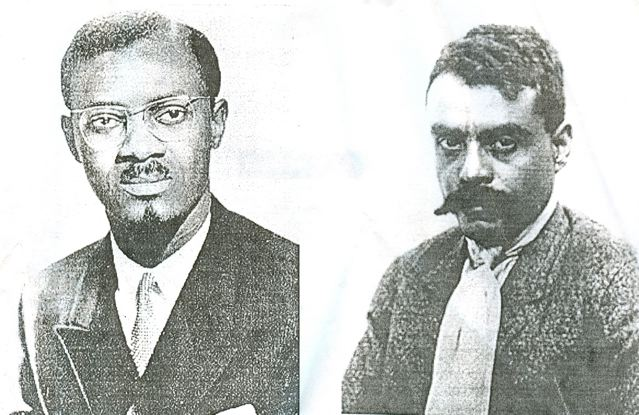 Patrice Lumumba and Emiliano Zapta