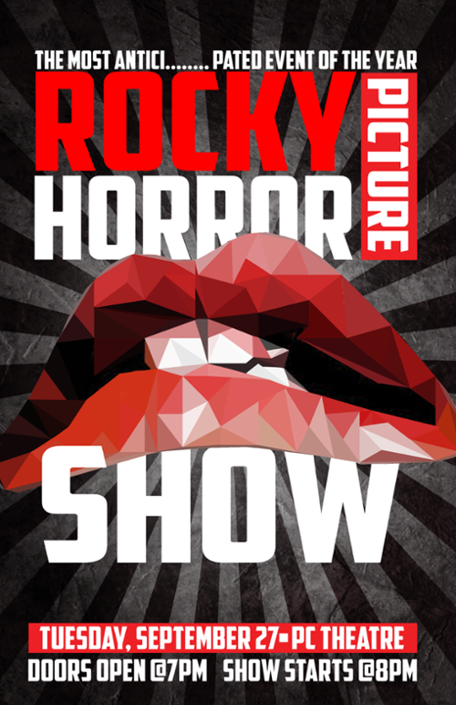 Rocky Horror Event Poster